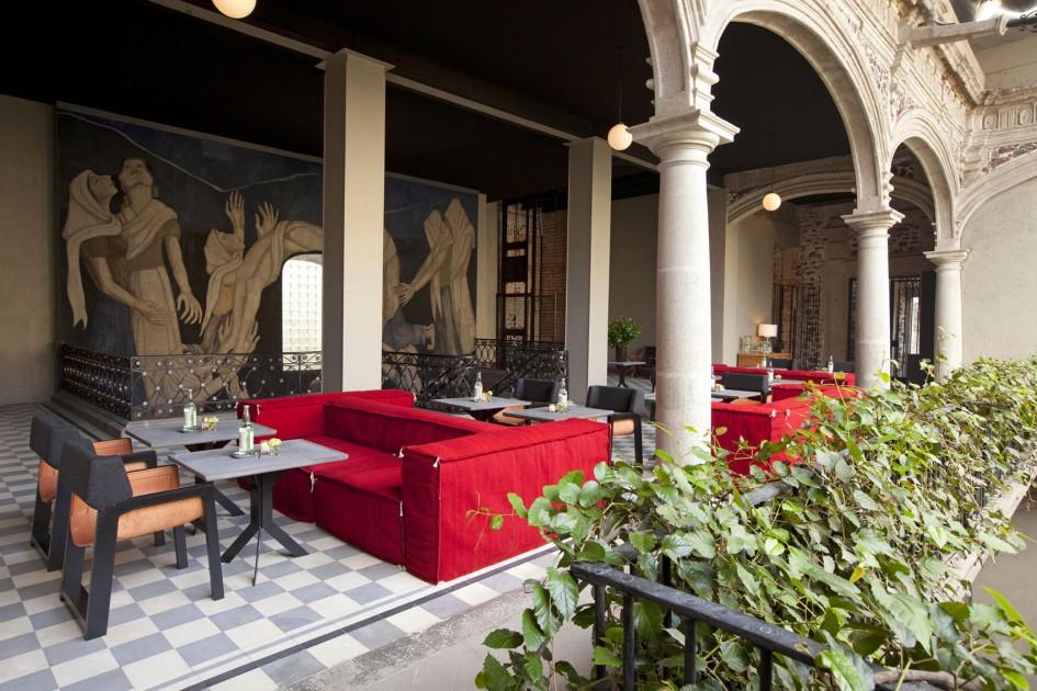 Downtown Mexico hotel by Cherem Serrano Arquitectos | Flodeau.com