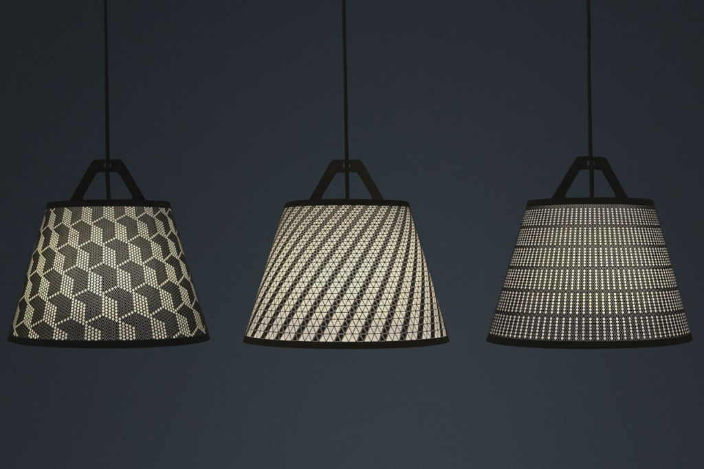 Take-off Light paper lampshades by German label fifti-fifti |Quick Dose of Inspiration #43 | Flodeau.com