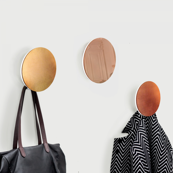 Astro wall coat hangers by Belgium studio aller-retour | Quick Dose of Inspiration #43 | Flodeau.com
