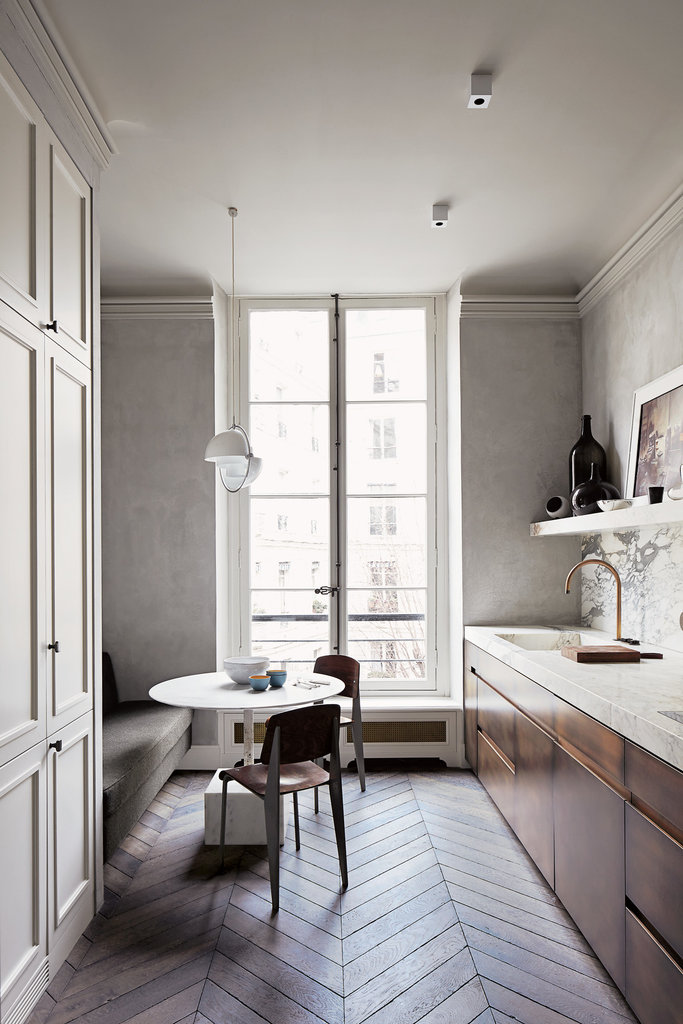 Architect Joseph Dirand's minimal Paris apartment | Quick Dose of Inspiration #43 | Flodeau.com
