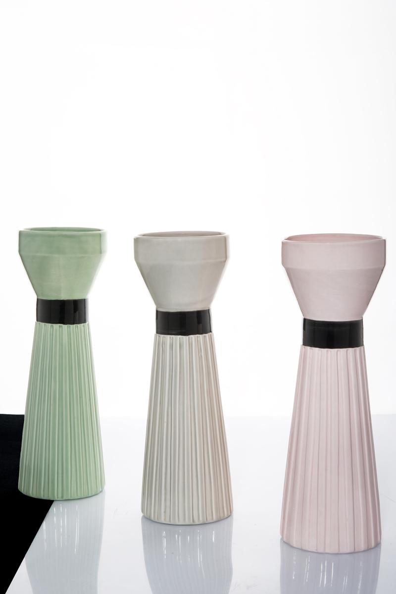 Miuccia ceramic vases by Cristina Celestino