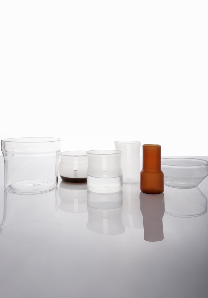 Velasca set of glasses by Cristina Celestino