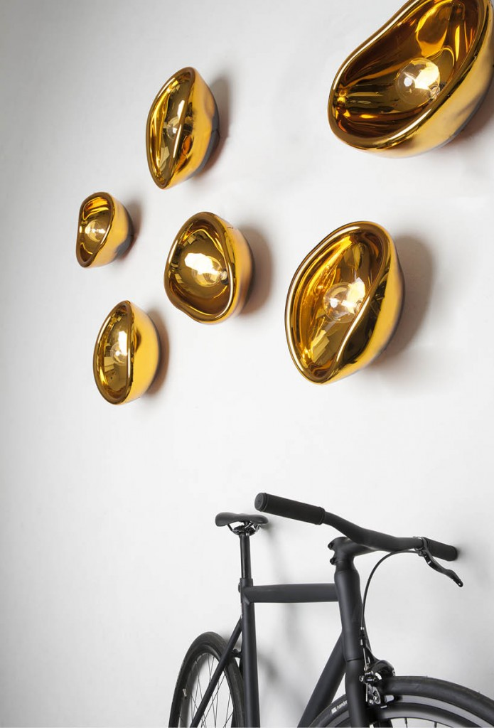 Aurum wall lights by Alex de Witte | Quick Dose of Inspiration #43 | Flodeau.com