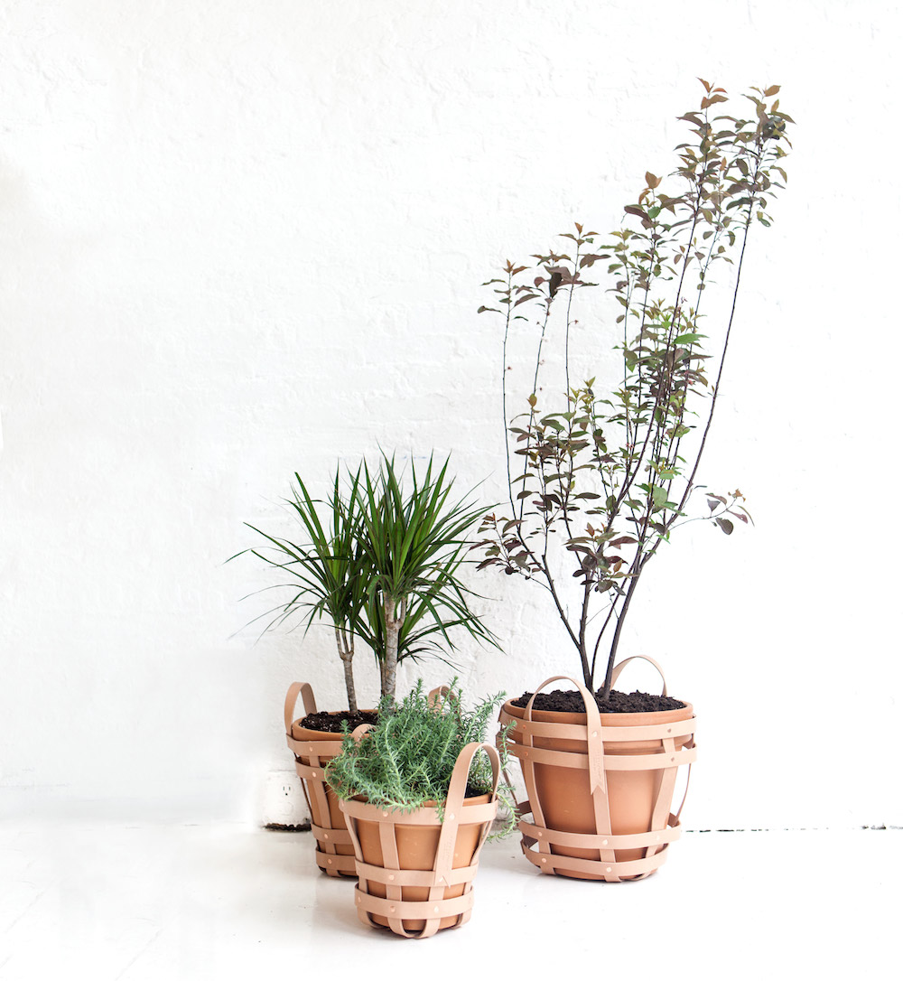 Strap Planters by NYC based studio byAMT  | Quick Dose of Inspiration #43 | Flodeau.com