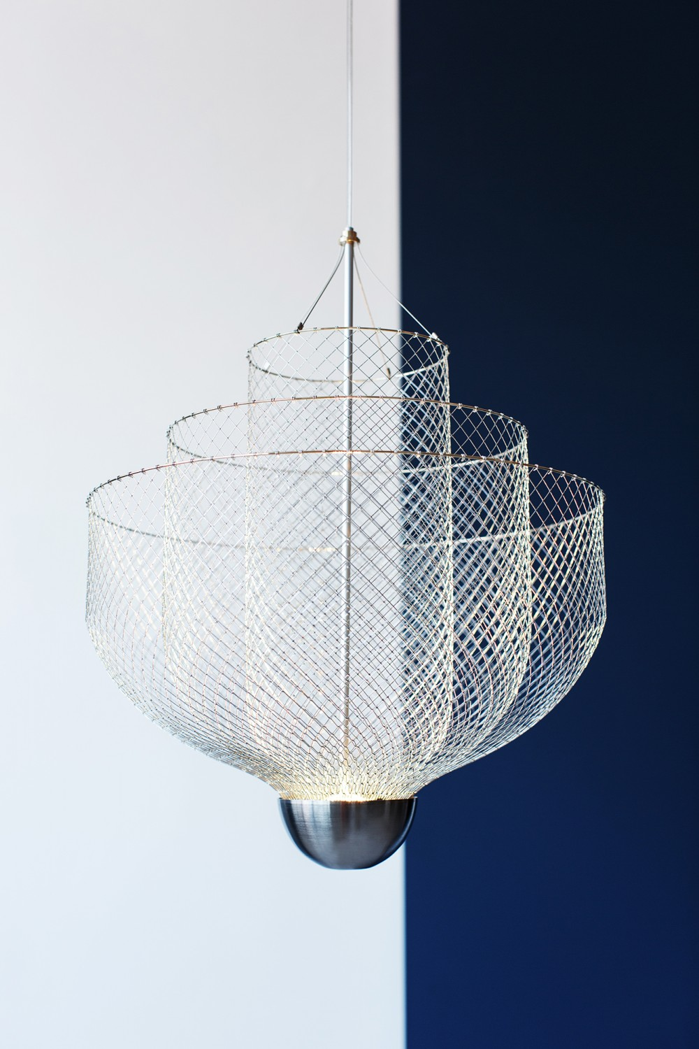 Meshmatics Chandelier by Rick Tegelaar |Quick Dose of Inspiration #43 | Flodeau.com