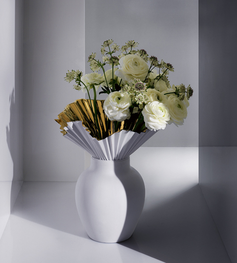 Falda vase by studio Sebastian Herkner for Rosenthal | Quick Dose of Inspiration #43 | Flodeau.com