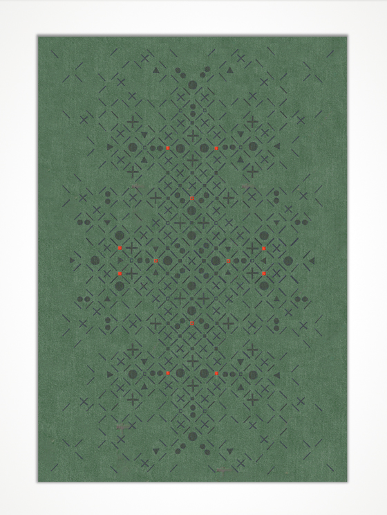 Persy rug by Sam Accoceberry for Chevalier édition