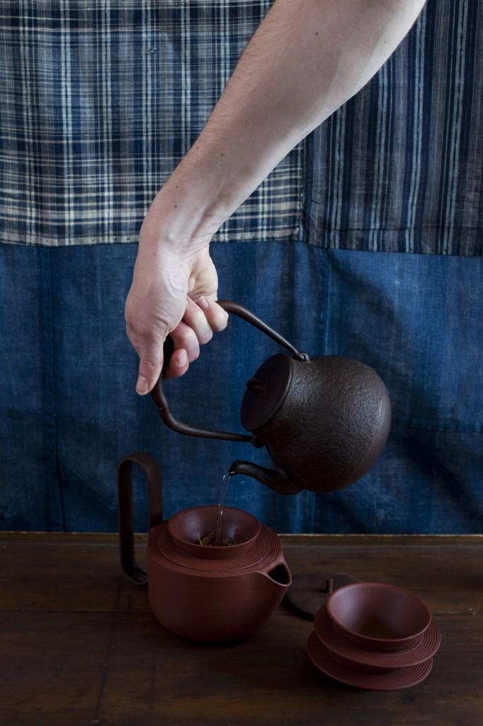 Aureola tea set by Luca Nichetto and Lera Moiseeva for Mjölk