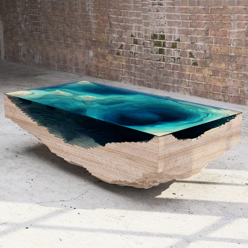The Abyss Table by Christopher Duffy - Duffy London