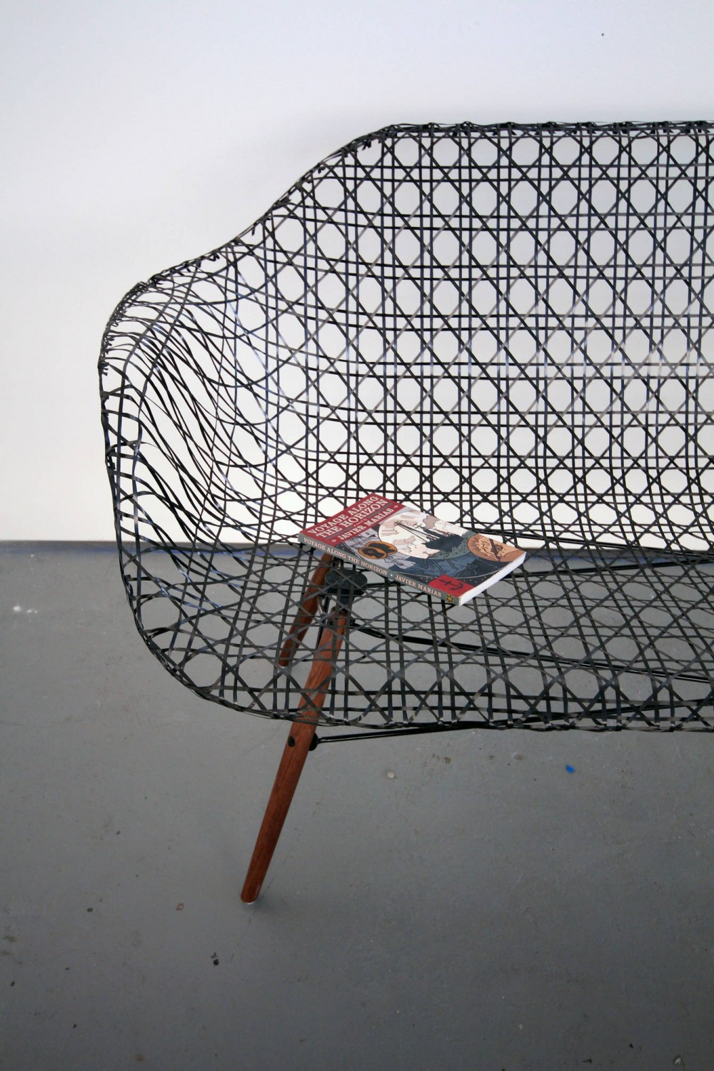 The Carbon Fiber Eames Sofa by Matthew Strong