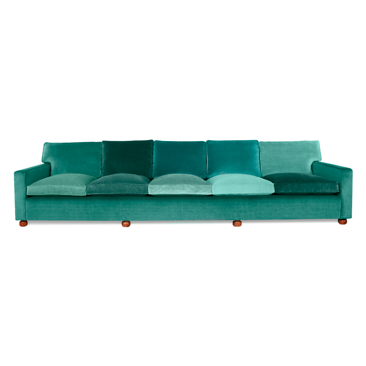 Long sofa by Josef Frank for Svenskt Tenn