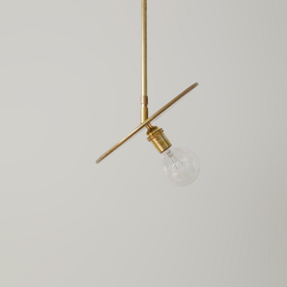 Brass Pendant by Another Country