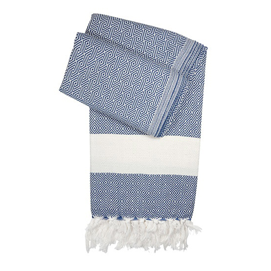 Pestemal traditional Turkish cotton towels by Munich-based label Hamamista