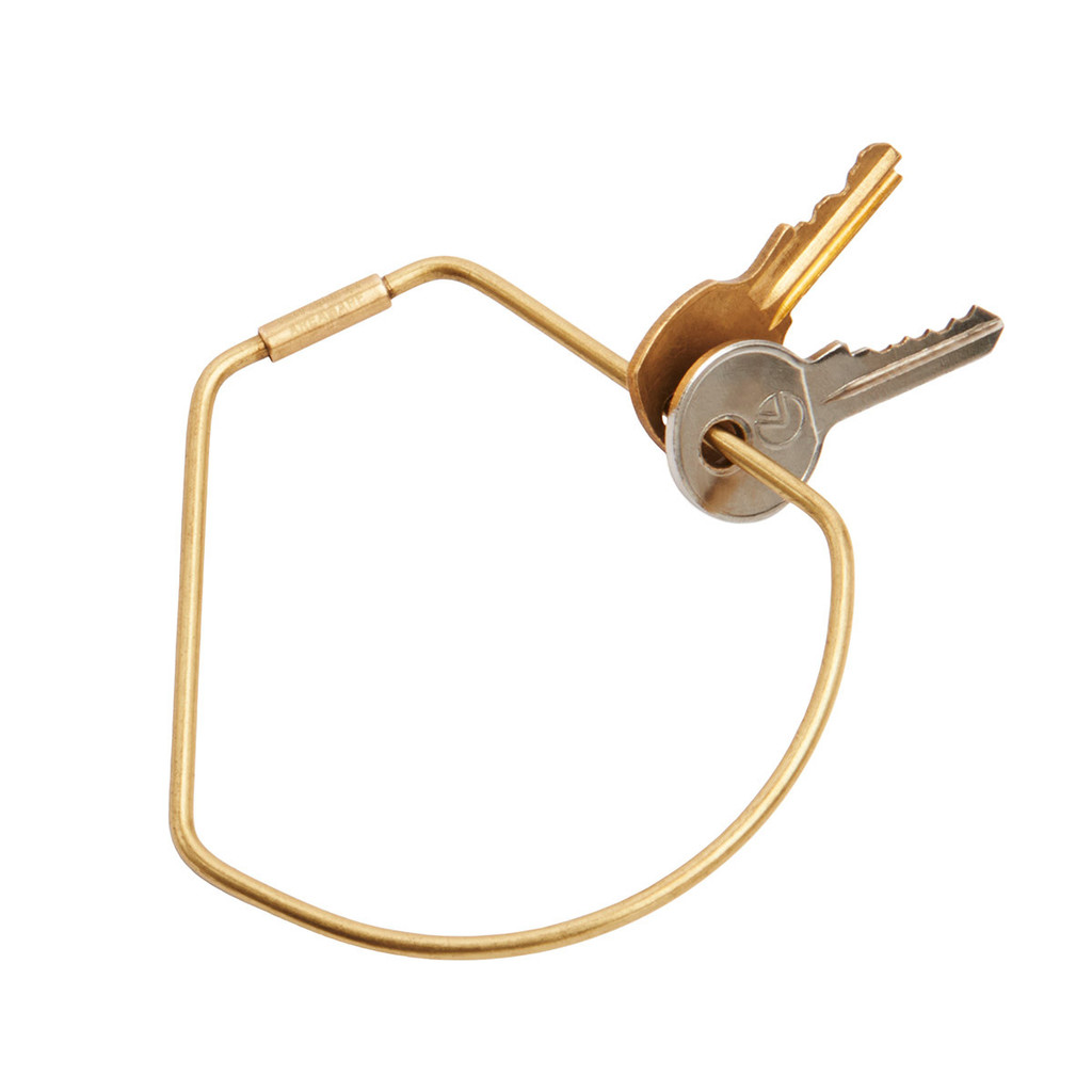 Contour Key Ring: Bell by Karl Zahn