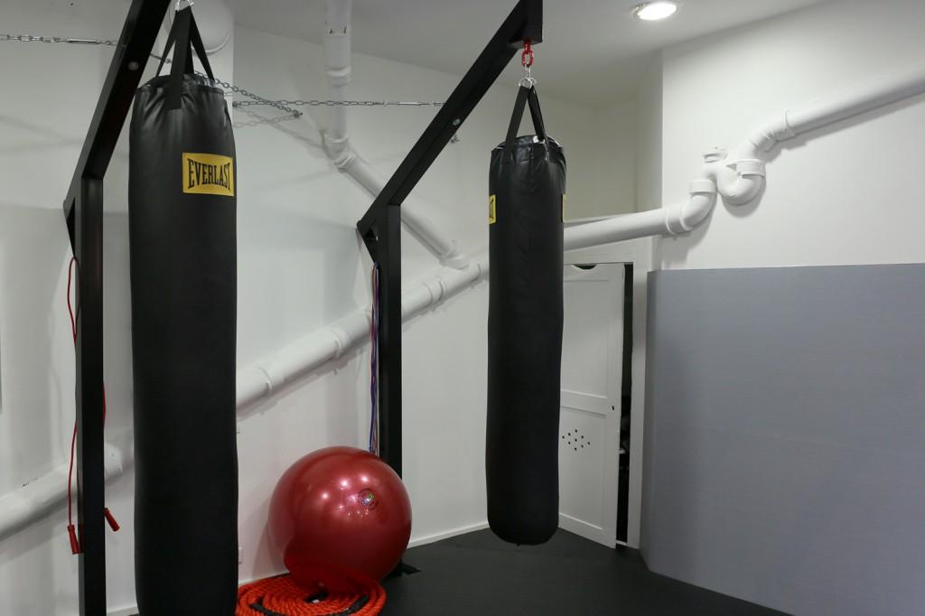 La Belle Équipe Thai boxing hall in Paris by Spray Architecture   Flodeau.com