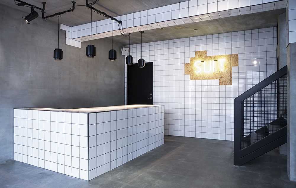 SUIT store in Reykjavík, by HAF by Hafsteinn Juliusson   Flodeau.com