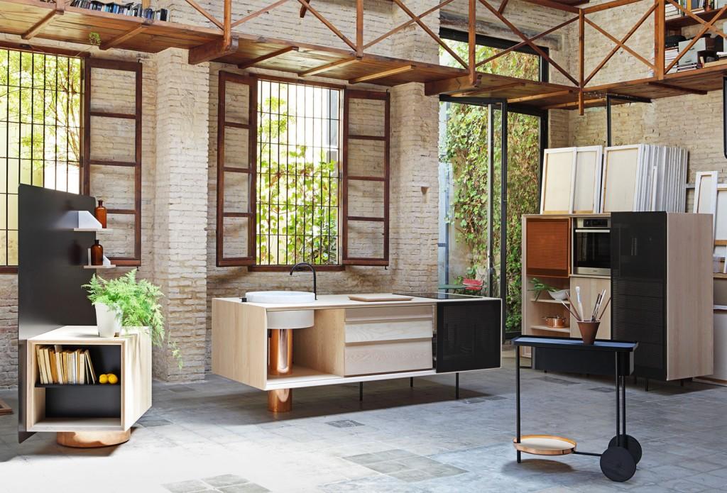 Float Kitchen by Mut Design X Miras Editions | Flodeau.com