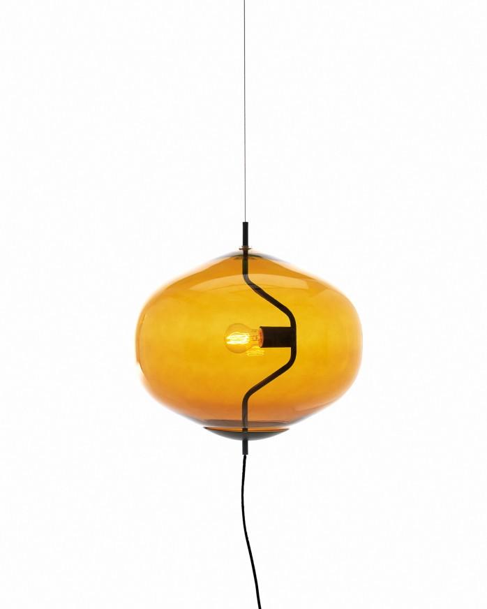 Fondue hand-blown glass pendant lamp by Luca Nichetto for Swedish label David Design | Flodeau.com