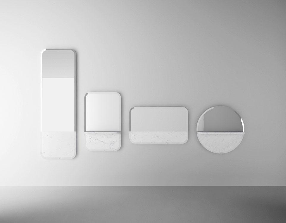 Sylvain Willenz for Retegui : Alaka mirrors | Flodeau.com