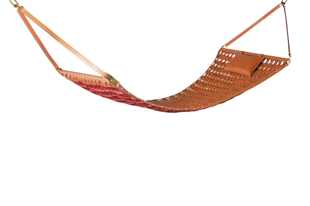 Hammock by Atelier Oi for Louis Vuitton's new collection of Objets Nomades | Flodeau.com #MDW2015