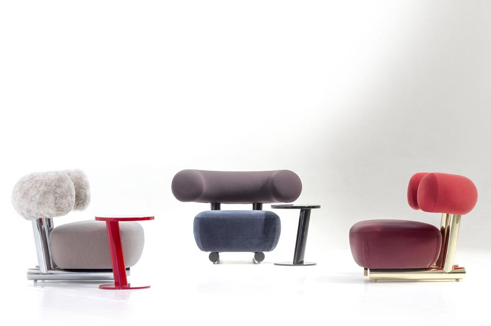 Pipe collection by Sebastian Herkner for Moroso | Flodeau.com #MDW2015
