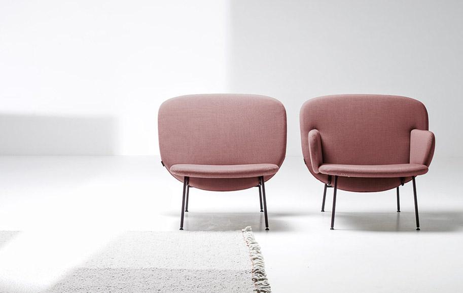 Ala armchairs by Sebastian Herkner for Italian manifacturer La Cividina | Flodeau.com #MDW2015