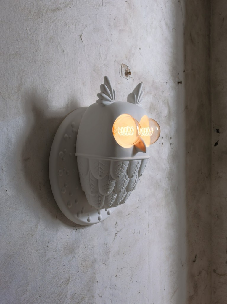 Ceramic wall light TI.VEDO by Matteo Ugolini for Italian label Karman | Flodeau.com #MDW2015
