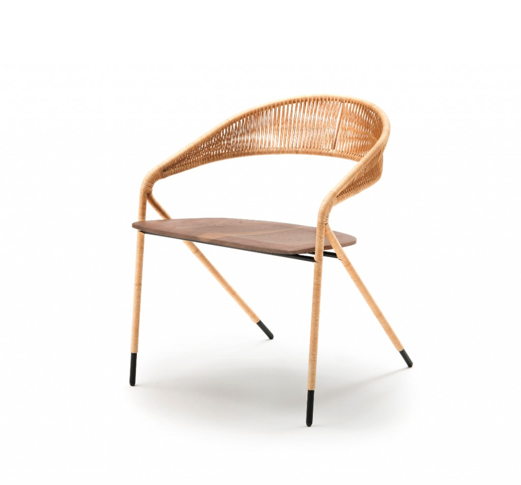 George chair by Spanish designer David Lopez Quincoces for Living Divani | Flodeau.com #MDW2015
