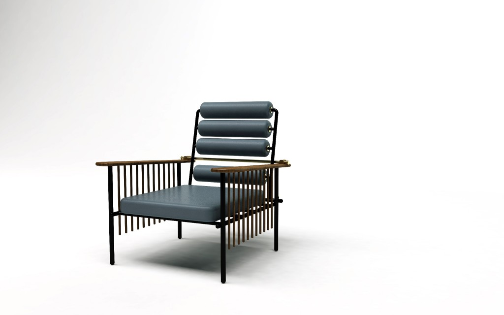 The Chaise Maurice armchair by David/Nicolas for Nilufar Gallery | Flodeau.com #MDW2015