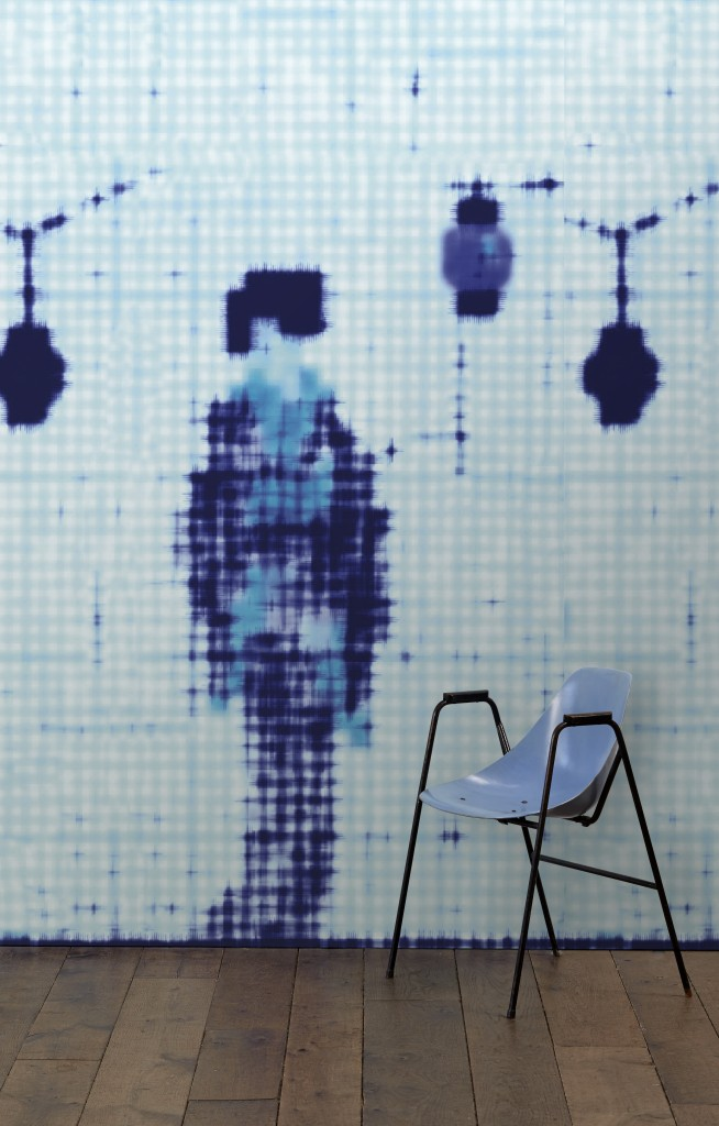 Addiction wallpaper by Paola Navone for NLXL | Flodeau.com #MDW2015