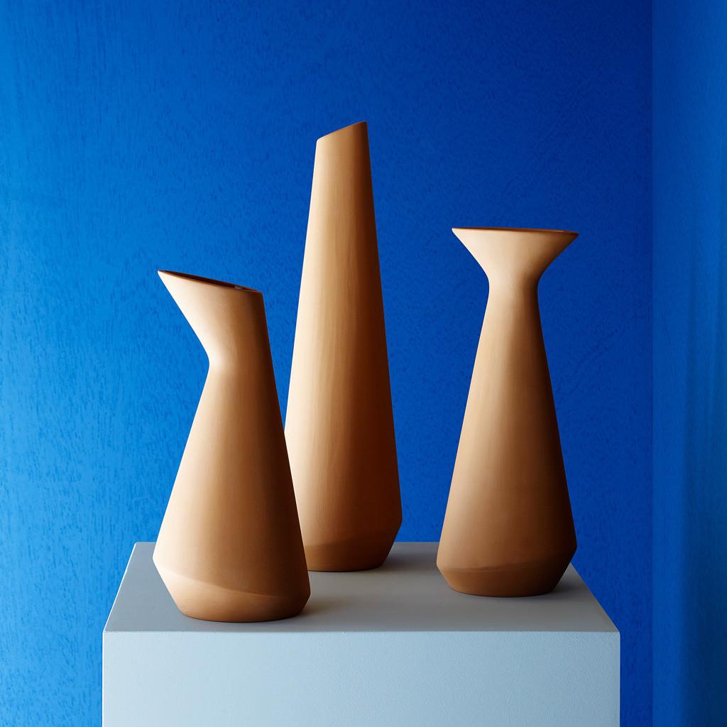 Sula vase-carafes designed by Pietro Bastia for Incipit | Flodeau.com #MDW2015