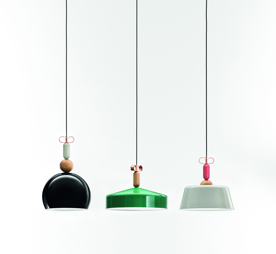 Bon Ton pendant lights by Cristina Celestino for Torremato | Flodeau.com #MDW2015