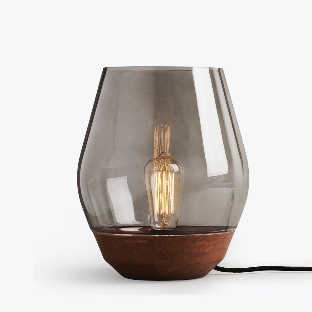 Bowl table lamp by New Works | Flodeau.com #MDW2015