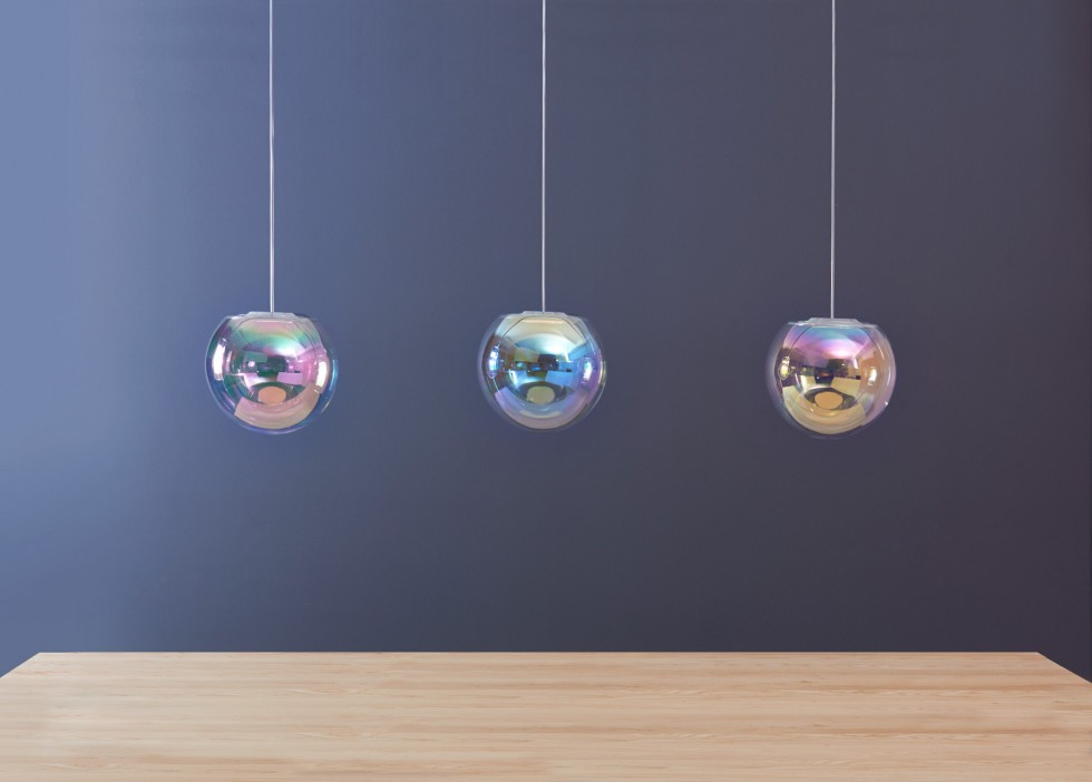 Iris pendant light by NEO/CRAFT | Flodeau.com #MDW2015