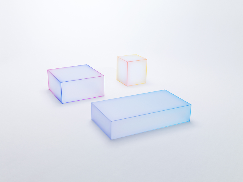 Soft tables by nendo for Glas Italia | Flodeau.com #MDW2015