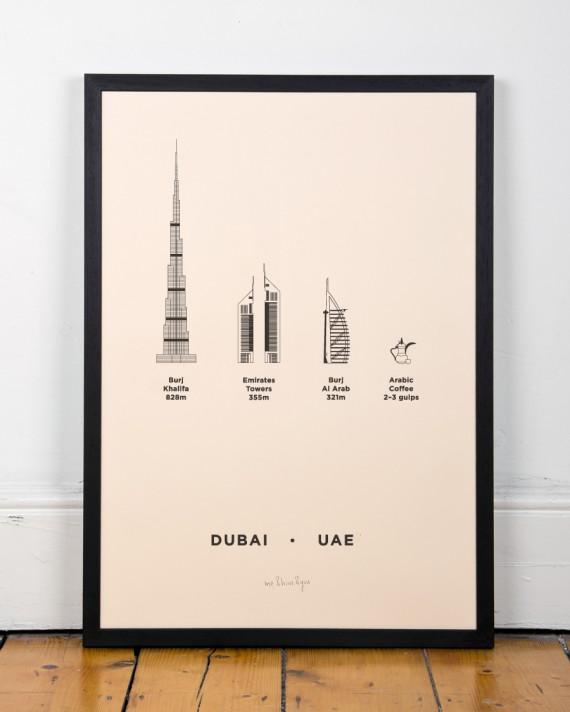 Dubai City Poster by me&him&you | Flodeau.com