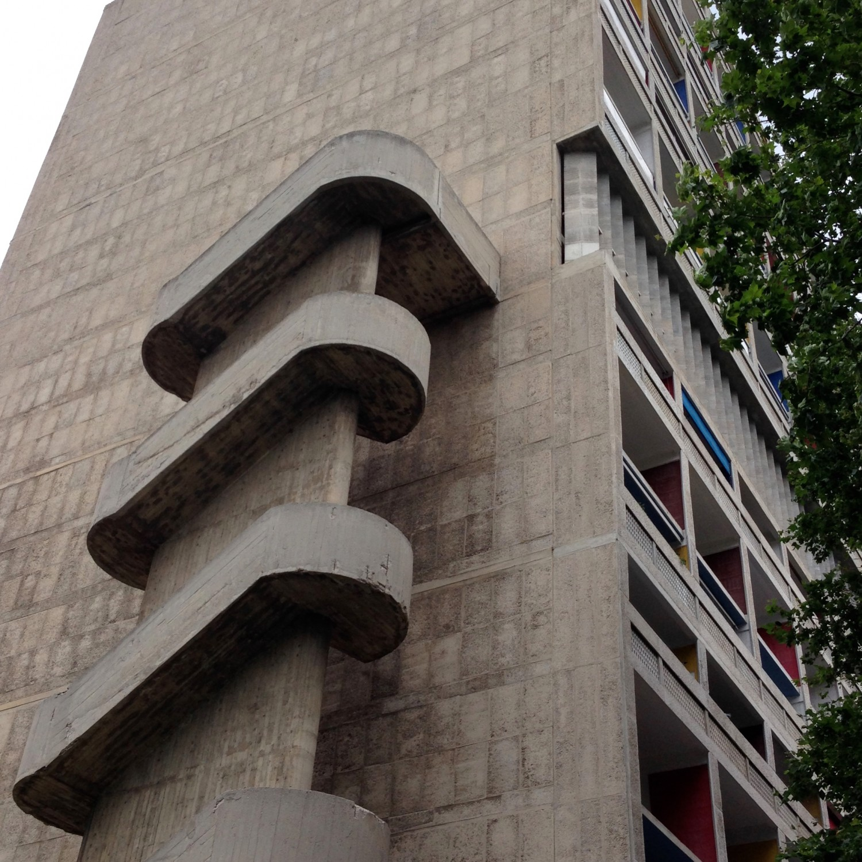 La Cité Radieuse, Le Corbusier. A Trip to Marseille #choosemarseille | Flodeau.com