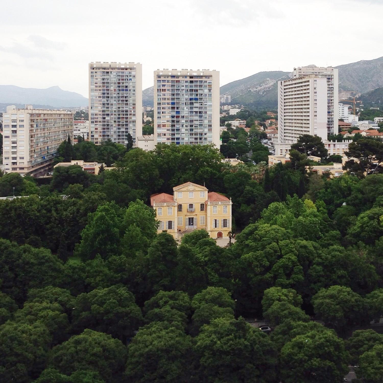 View from La Cité Radieuse, Le Corbusier. A Trip to Marseille #choosemarseille | Flodeau.com
