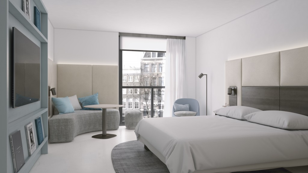 New guest rooms at Amsterdam Marriott - Designed by Studio Piet Boon - Flodeau.com